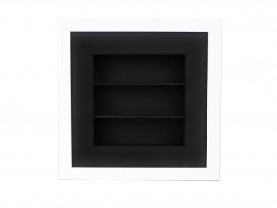 SPOX - weiß/schwarz - 3 Fächer