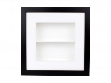 SPOX - schwarz/weiß - 2 Fächer