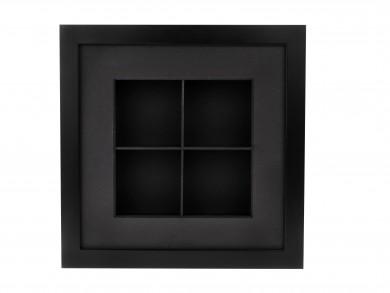 SPOX - schwarz - 4 Fächer